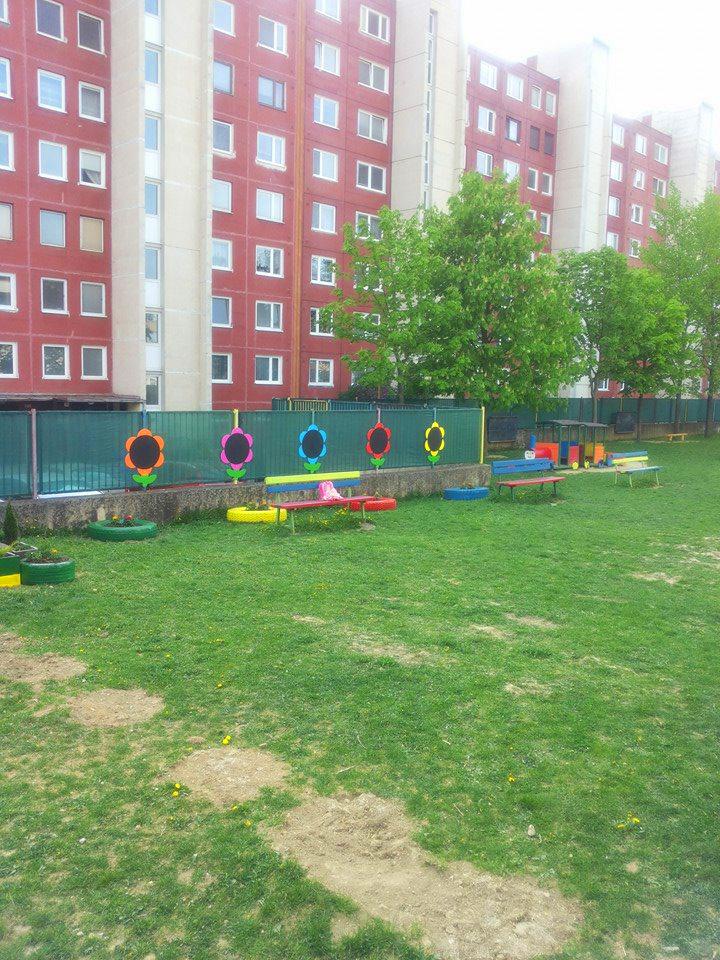 Kvety na plote