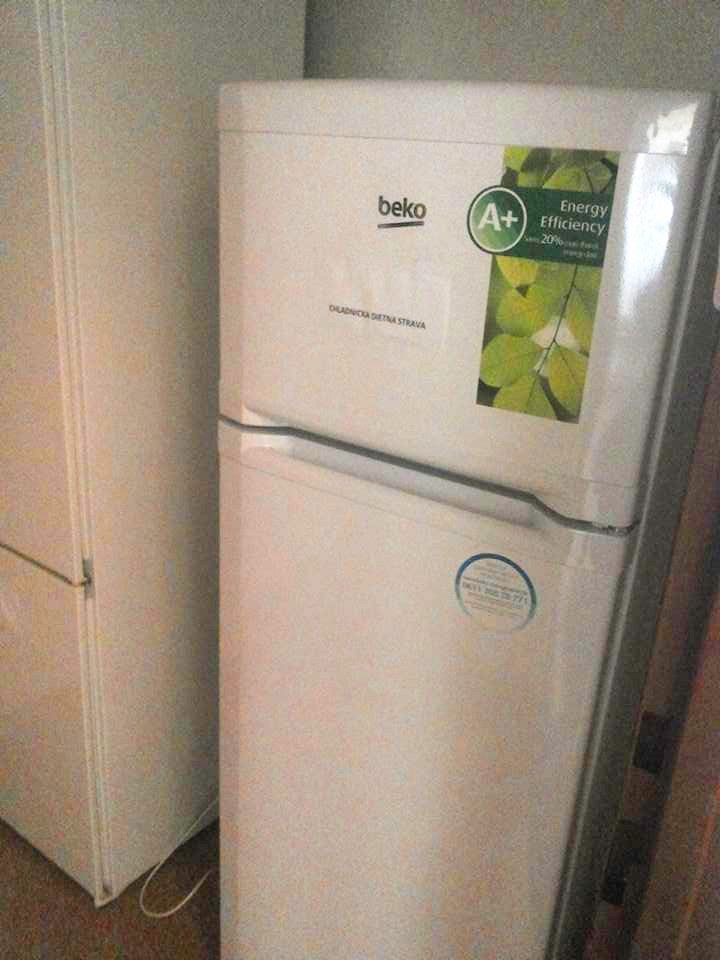 Nové chladničky